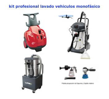 Kit profesional lavado de vehiculos monofasico