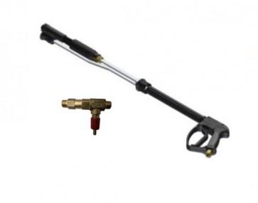 Pistola de espuma de lavado y aclarado para hidrolimpiadora