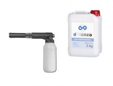 Generador de espuma de 2 litros para hidrolimpiadora