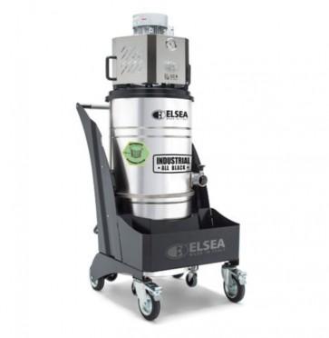 Aspiradora vertical trifásica para uso industrial con sacudidor automático