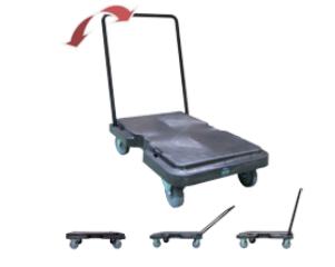 Plataforma de servicio y transporte.