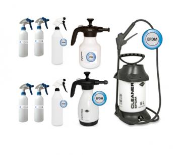 Pulverizadores para productos de limpieza de coches