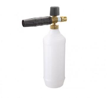 Lanza espuma con depósito para limpieza de superficies