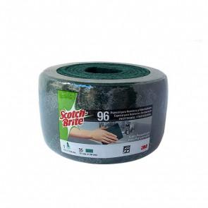 Rollo fibra verde Scotch-Brite 6m x 134mm