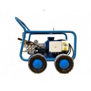Equipo profesional de limpieza de alta presión de agua.