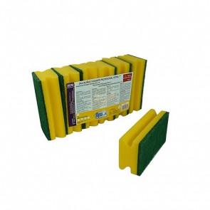 Salvauñas fibra verde pack 6 unidades
