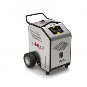 Generador de agua caliente para conexión a hidrolimpiadora.