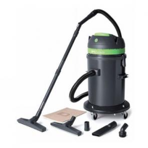 Aspirador polvo liquido 2 motores con peana giratoria