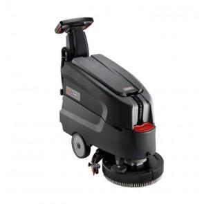 Fregadora limpiadora secadora de suelos eléctrica