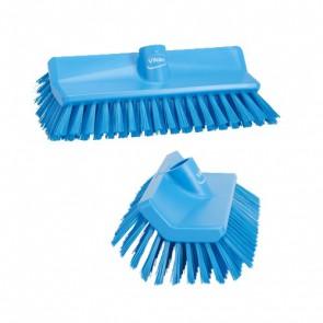 Cepillo angular.azul con rosca