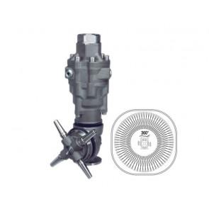 Cabezal giratorio para limpieza de cisternas de 360º