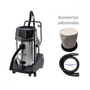 Aspirador profesional para talleres y lavaderos accesorios adicionales