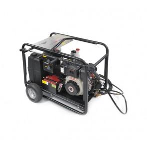 Hidrolimpiadora diesel autónoma de agua caliente