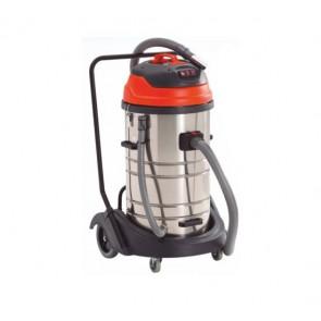 Aspirador capacidad 80 litros con tres motores depósito basculante
