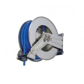 """Enrollador de manguera automático de acero inoxidable para manguera de 20 m 1/2 """"."""