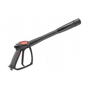 Pistola con extensión de lanza y enchufe rápido