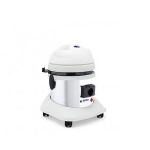 Aspirador de polvo con filtro hepa para salas blancas y laboratorios.