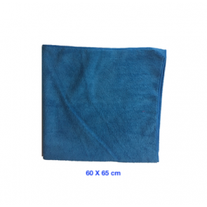 Bayeta microfibra profesional azul grande para secado techos y exterior de coches