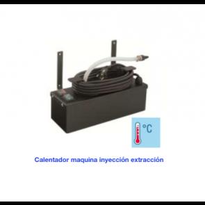 Calentador maquina inyección extracción.