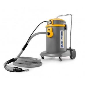 Aspirador de polvo con conexión a herramientas eléctricas y neumáticas