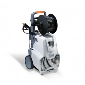 Hidrolimpiadora monofásica de lavado con enrollador