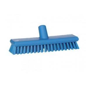 Cepillo medio para fregar paredes con paso de agua en alimentaria