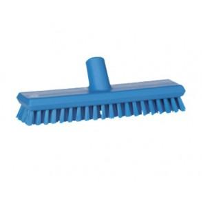 Cepillo duro para fregar suelos con paso de agua en alimentaria