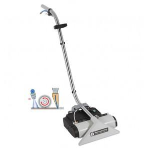 Boquilla para limpieza de moquetas con cepillo giratorio