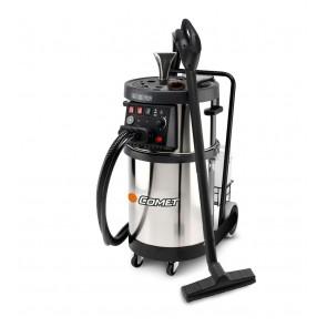 Máquina generadora de vapor con inyección y aspiración.