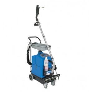 Máquina a batería para limpieza de sanitarios y suelos