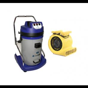 Limpiatapicerias uso profesional de inyección con doble extracción y turbina de secado.