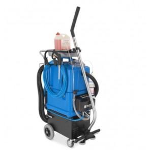 Máquina con proyección de espuma limpieza de sanitarios y suelos