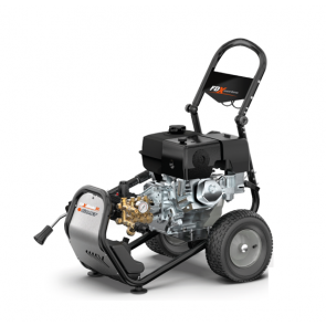Hidrolimpiadora autónoma a gasolina con accesorios de aplicaciones especiales