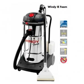Máquina de limpieza de inyección extracción y espuma para tapizados