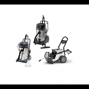 Kit car máquinas para lavar interior y exteriror de vehículos.