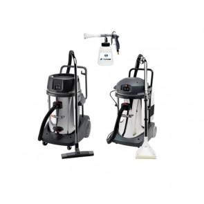 Kit máquinas de aspiración y limpieza de tapicerias profesional