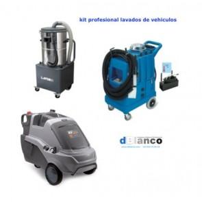 Kit profesional lavado de vehiculos