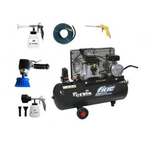 Kit de limpieza,espumado y cepillado interior de vehículos