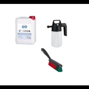 kit para limpiar tapiceria coche con espuma