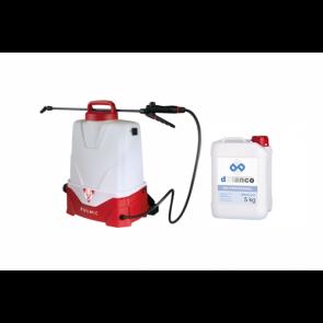 kit para desinfección de suelos y superficies en naves industriales