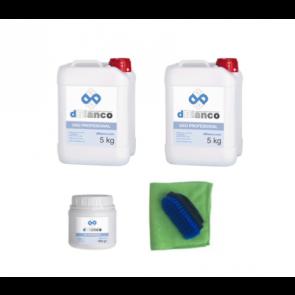 kit productos para limpiar tapiceria coche