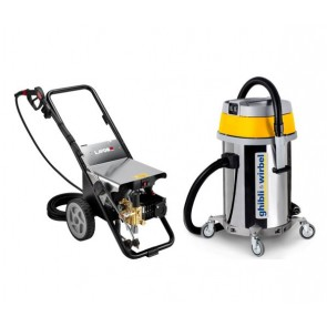 kit profesional lavado alta presión y aspirado de vehiculos