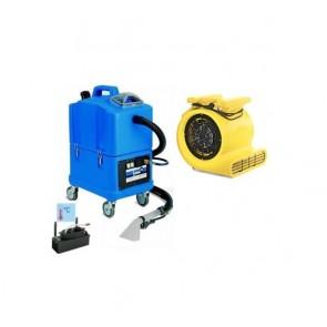 Limpiatapicerias uso profesional con calentador y turbina de secado.