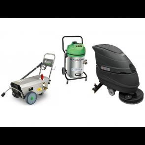 Equipamiento máquinas de limpieza para industrias de alimentación.