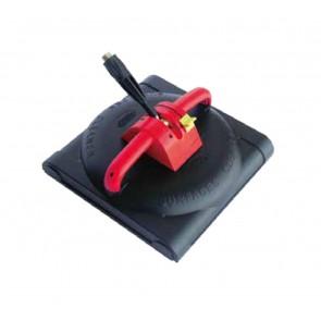 Campana con cabezal giratorio para limpieza de paredes y suelos