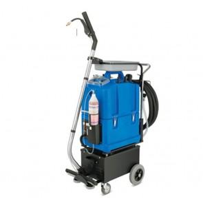 Limpiadora a batería de superficies verticales, sanitarios y suelos.