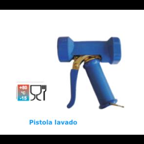 Pistola de lavado baja presión