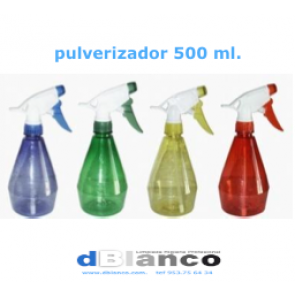 Botella con pulverizador 500 ml