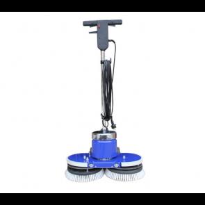Abrillantadora rotativa doble disco de suelos de 490 mm
