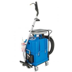 Limpiadora de superficies verticales, sanitarios y suelos con secado